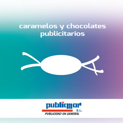 caramelos y chocolates publicitarios