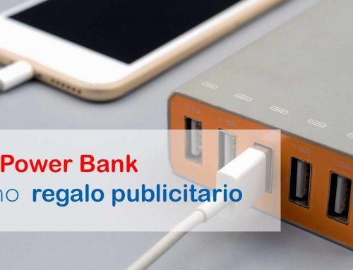 Las Power Bank como regalo publicitario